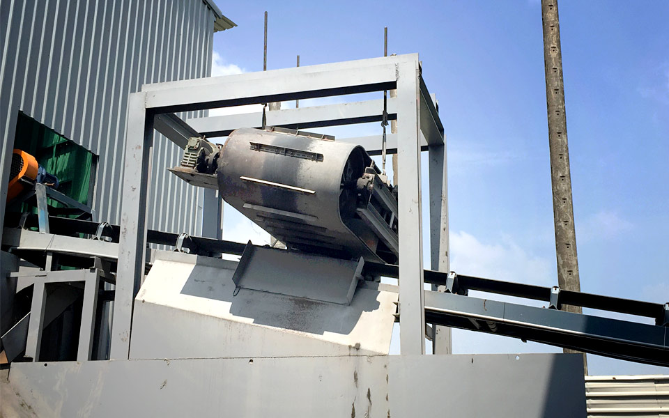 The second Magnetic Recovery Separator for Pingtung Construction Waste Disposal Site