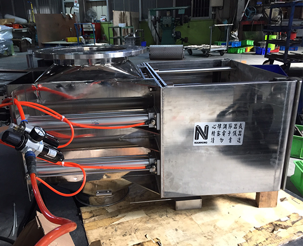Pneumatic Magnetic Box / Automatic Iron Removal Box