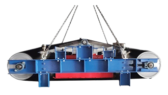 Over-belt Electromagnetic Separator