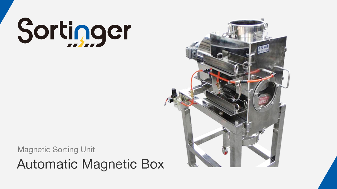Automatic magnetic box